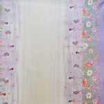 Michael Miller Fabrics - Kids - Fairy Frolic Double Border in Wisteria