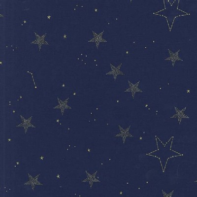 Michael Miller Fabrics - Magic - Lucky Stars in Navy