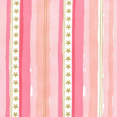 Michael Miller Fabrics - Magic - Stars and Stripes in Pink