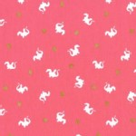 Michael Miller Fabrics - Magic - Baby Dragon in Pink