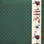Michael Miller Fabrics - Nutcracker - Act I Border in Hunter Green
