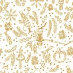 Michael Miller Fabrics - Nutcracker - Mini Overture in Cream