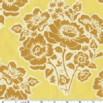 Michael Miller Fabrics - Secret Garden - Cut Flowers in Maize