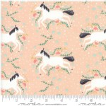 Moda Fabrics - Kids - Enchanted - Unicorn Galore in Blush