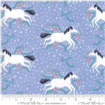 Moda Fabrics - Kids - Enchanted - Unicorn Galore in Lavender