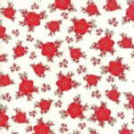 Moda Fabrics - Return Winters Lane - Floral in Snow
