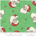 Moda Fabrics - Swell Christmas - Santa in Green