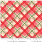 Moda Fabrics - Swell Christmas - Plaid in Pink Red