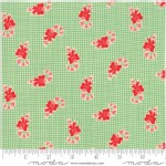 Moda Fabrics - Swell Christmas - Candy Canes in Green