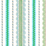 Quilting Treasures - Lalaloopsy - Lace Stripe in Blue