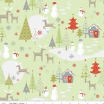 Riley Blake Designs - Holiday - Merry Little Christmas in Green
