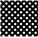 Riley Blake Designs - Hollywood - Sparkle Dots in Black