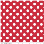 Riley Blake Designs - Hollywood - Sparkle Dots in Red