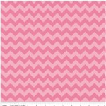 Riley Blake Designs - Knit Basics - Chevron in Pink Tonal