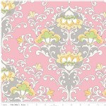Riley Blake Designs - Priscilla - Damask in Pink
