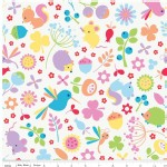 Riley Blake Designs - Wildflower Meadow - Wildflower Main in White