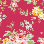 Tilda Fabrics - Apple Butter - Shirly in Red