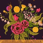 Windham Fabrics - Sleeping Porch - Wild Flowers in Plum